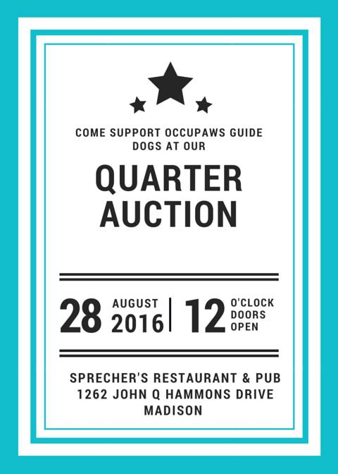 End of Summer Quarter Auction @ Sprecher's Restaurant and Pup | Madison | Wisconsin | United States