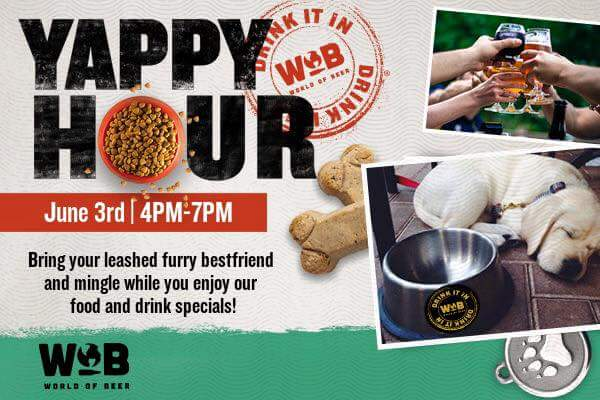 Yappy Hour for OccuPaws @ World of Beer | Middleton | Wisconsin | United States