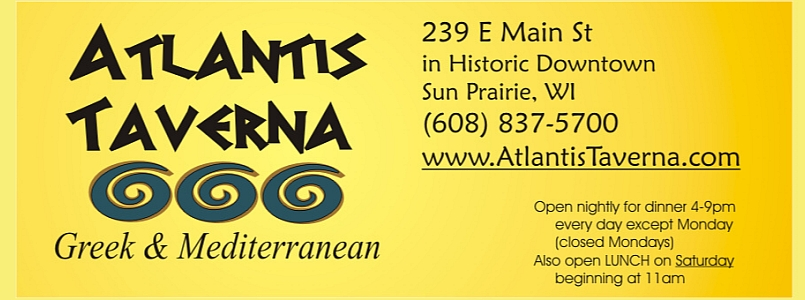 Atlantis Taverna 10% Night for OccuPaws @ Atlantis Taverna | Sun Prairie | Wisconsin | United States