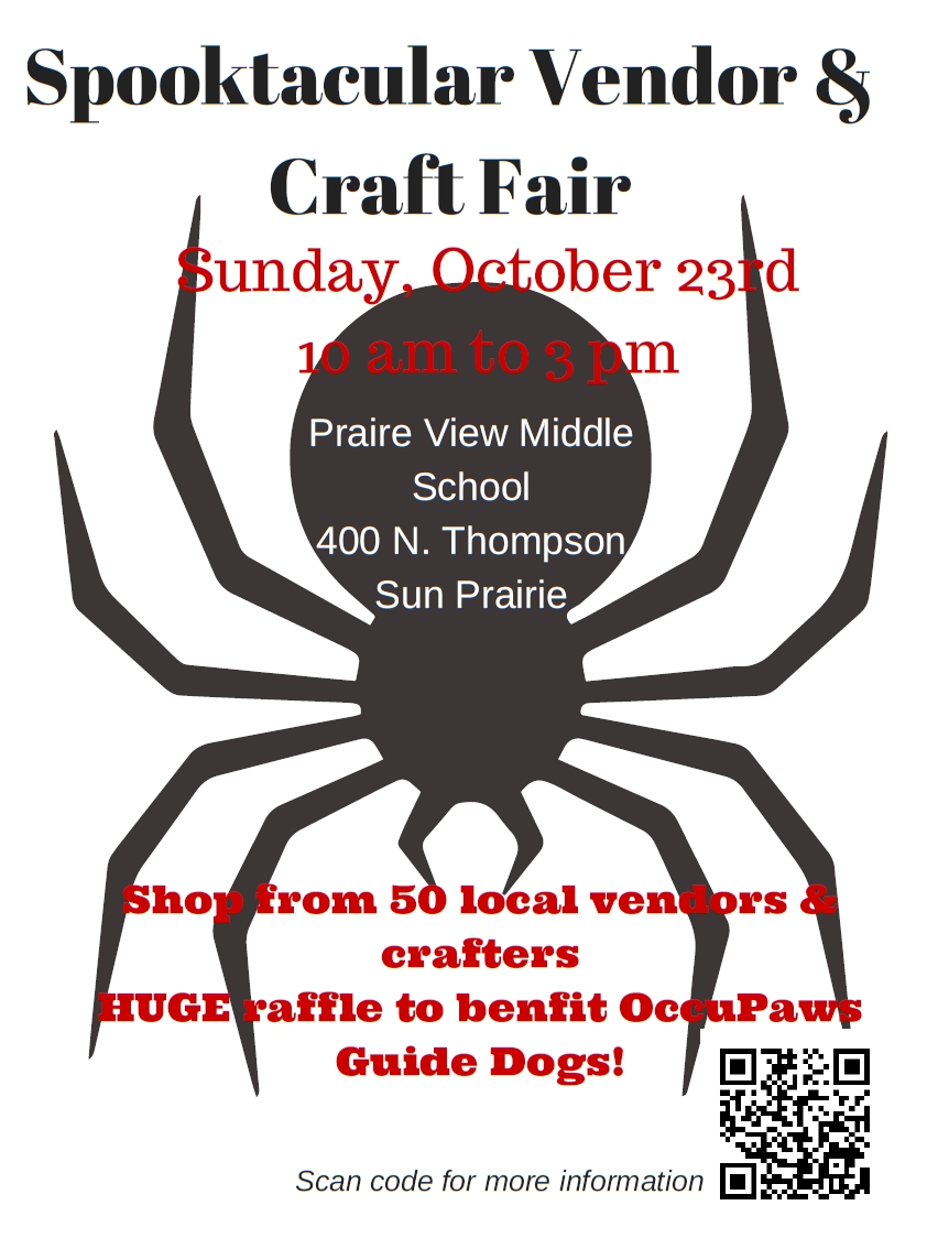 Spooktacular Vendor & Craft Fair @ Prairie View Middle School | Sun Prairie | Wisconsin | United States