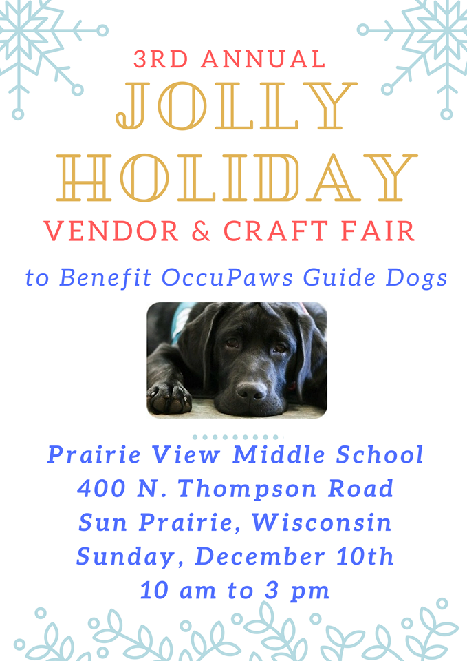 3rd Annual Jolly Holiday Vendor & Craft Fair @ Prairie View Middle School | Sun Prairie | Wisconsin | United States