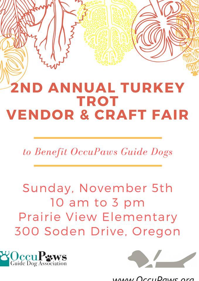2nd Annual Turkey Trot Vendor & Craft Vair @ Prairie View Elementary School   Oregon   Wisconsin   United States