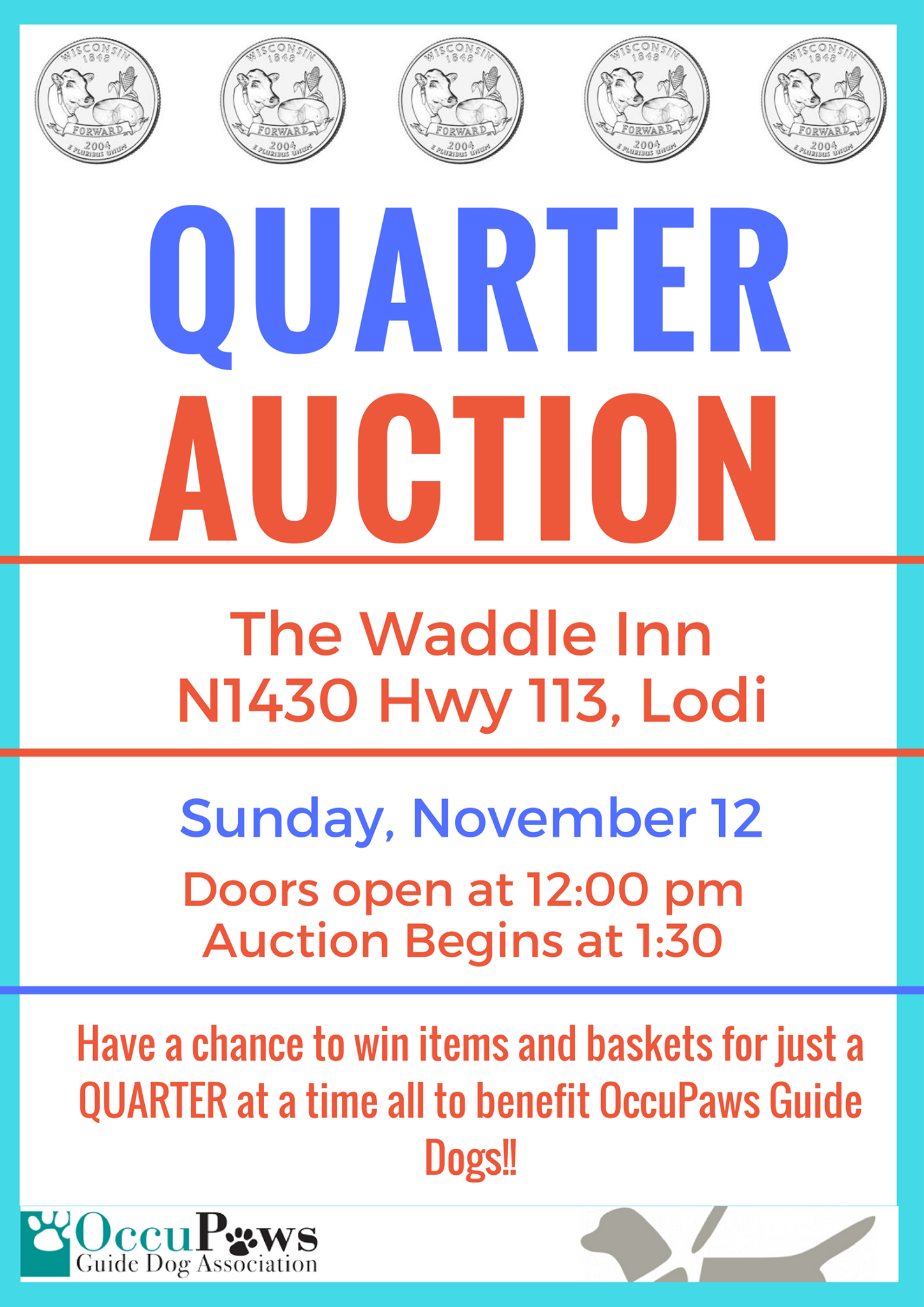 Quarter Auction @ The Waddle Inn   Lodi   Wisconsin   United States