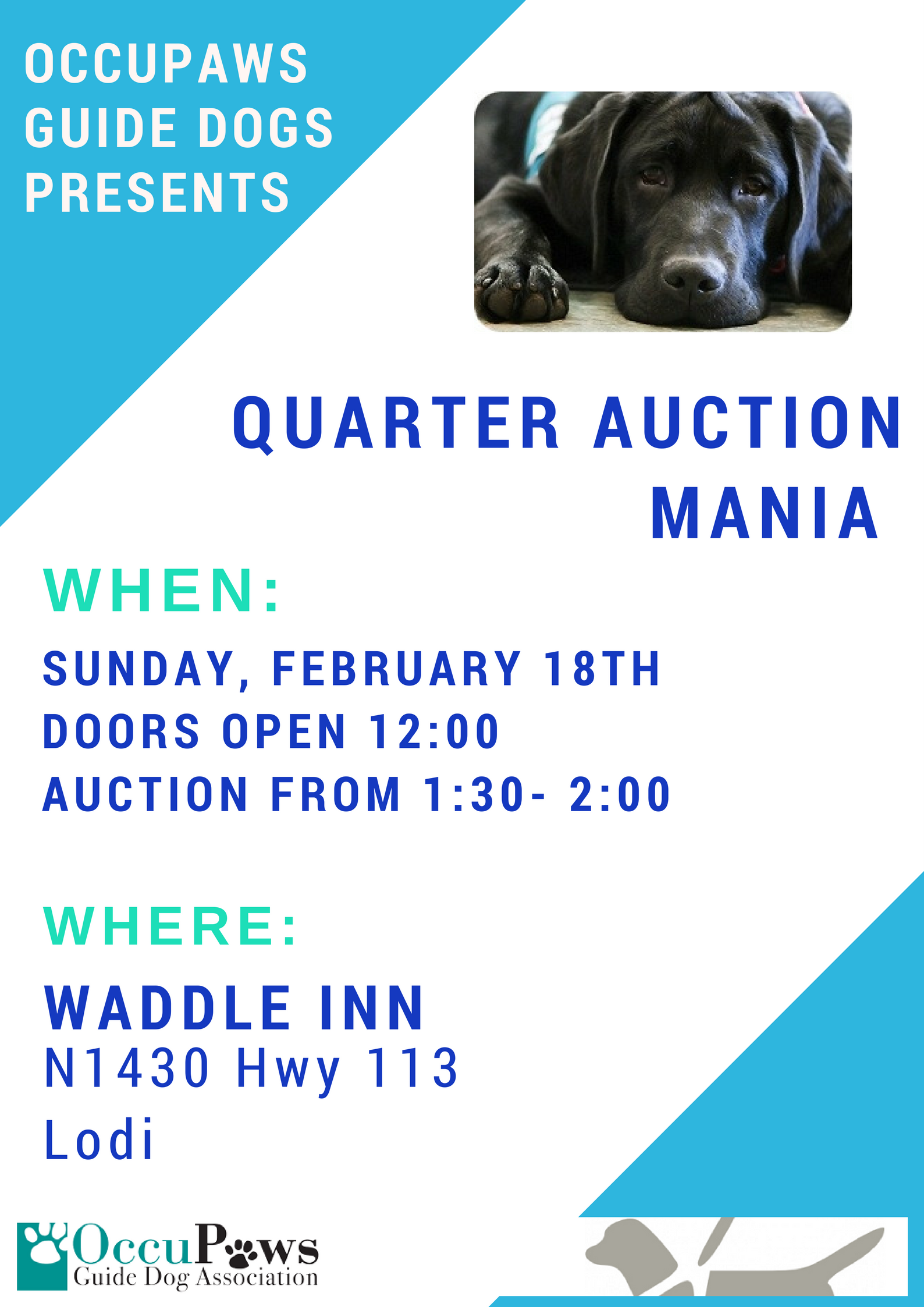 Quarter Auction @ Waddle Inn | Lodi | Wisconsin | United States